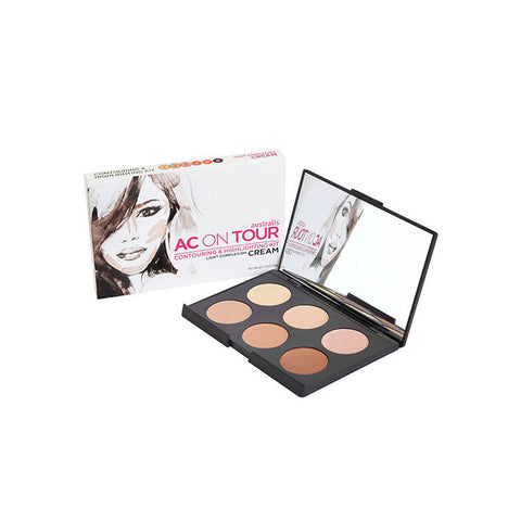 Australi - AC On Tour Cream Contour And Highlight Palette