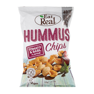 Eat Real - Tomato & Basil Houmous Chips