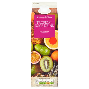 Discover the choice tropical juice