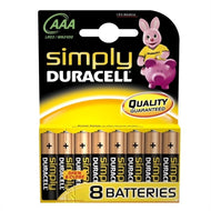 Duracell AAA Battery (8 pack)