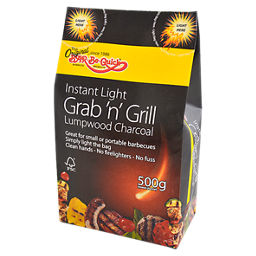 500g instant light BBQ Bag