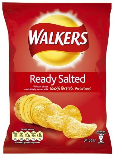 Walkers Ready Salted Small Crisps