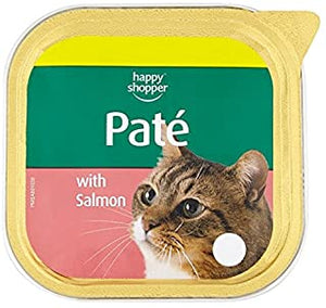 Happy shopper salmon pate for cats
