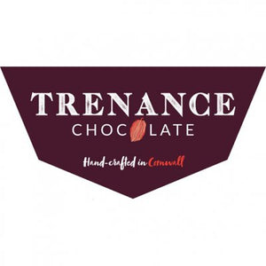 Trenance chocolate bar with fudge pieces chocolate -  White