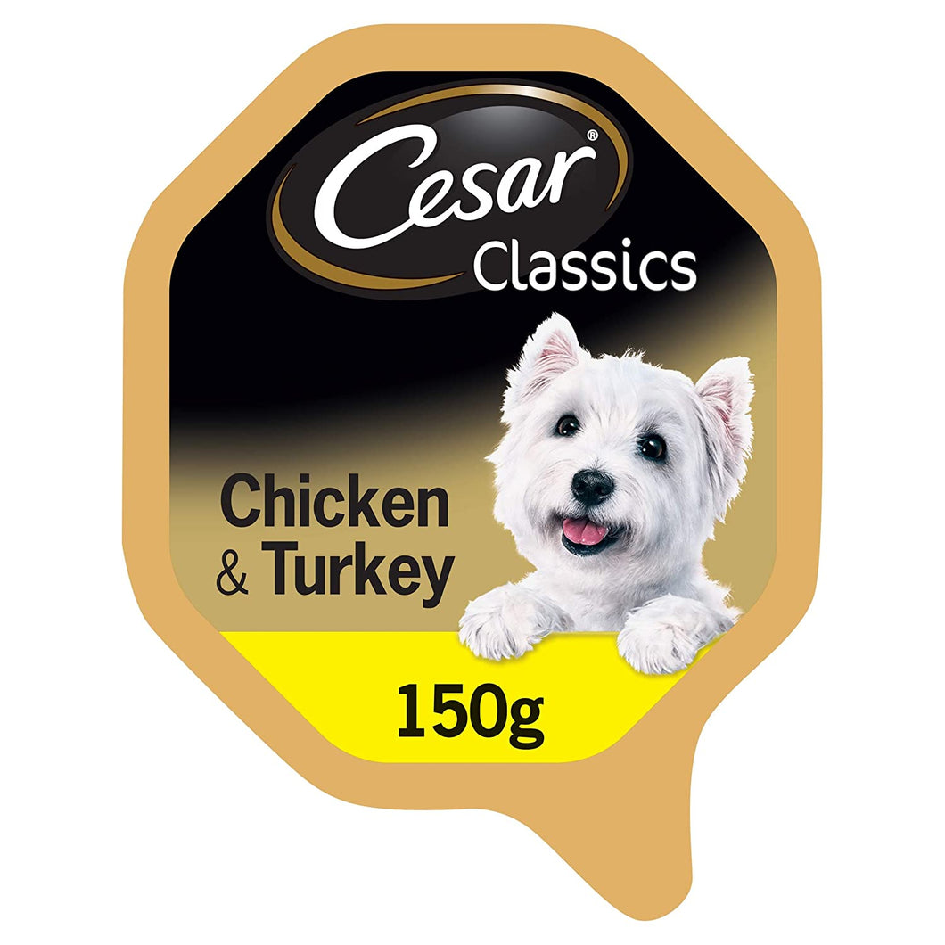 Cesar classics chicken and turkey