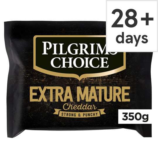350 g Pilgrims Choice Extra Mature Cheddar Cheese