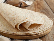 Packs of wholemeal wraps