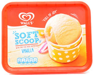 Walls Vanilla Ice Cream Family Size Tub
