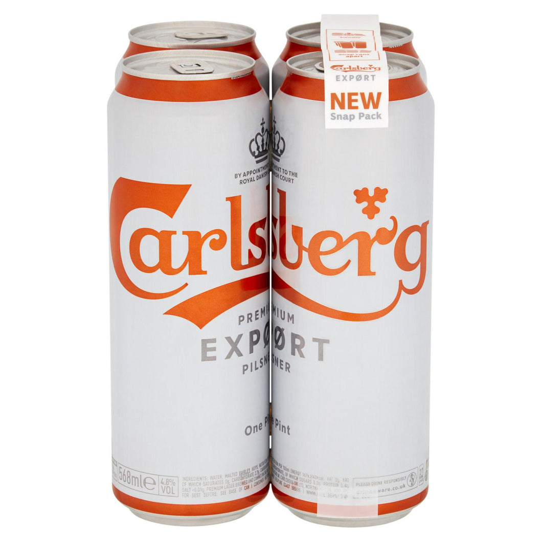 4 pack - Carlsberg Export Beer