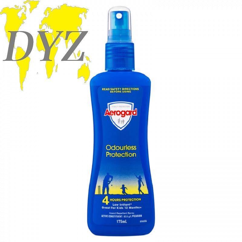Aerogard Odourless Protection Insect Repellant Spray (175ml)