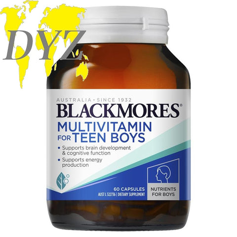 Blackmores Multivitamin for Teen Boys (60 Capsules)