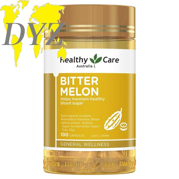 Healthy Care Bitter Melon (100 Capsules)