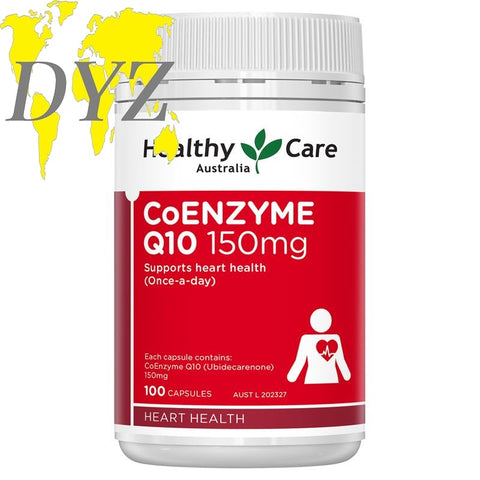 Healthy Care CoQ10 150mg (100 Capsules)