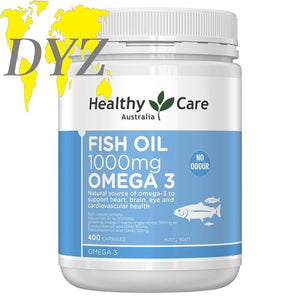 Healthy Care Fish Oil 1000mg (400 Capsules)