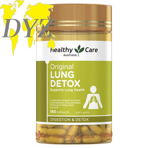 Healthy Care Original Lung Detox (180 Capsules)