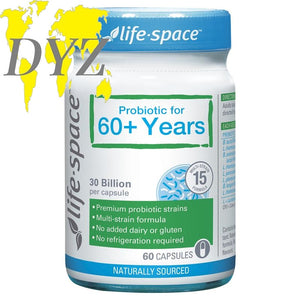 Life-Space Probiotic for 60+ Years (60 Capsules)