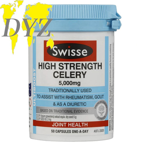 Swisse Ultiboost High Strength Celery 5000mg (50 Capsules)