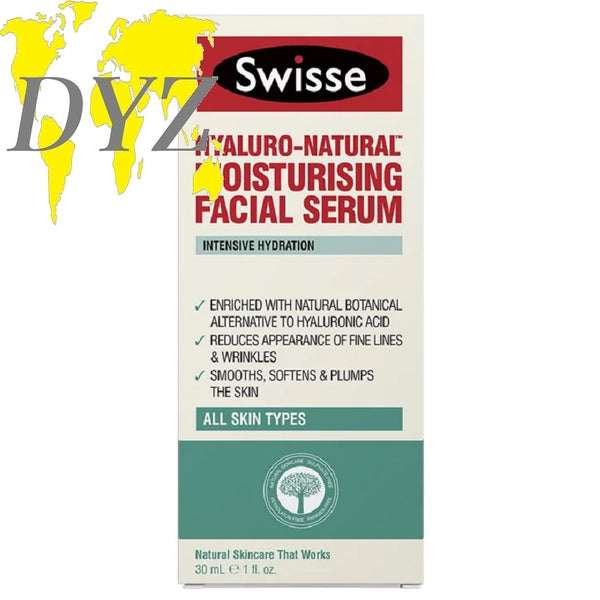 Swisse Skincare Hyaluro-Natural Moisturising Facial Serum (30ml)