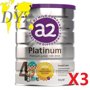 a2 Platinum Premium Stage 4 Junior Milk Drink (900g) [X3]