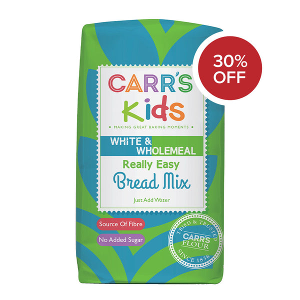 NEW Carr's Kids Really Easy Bread Mix 500g