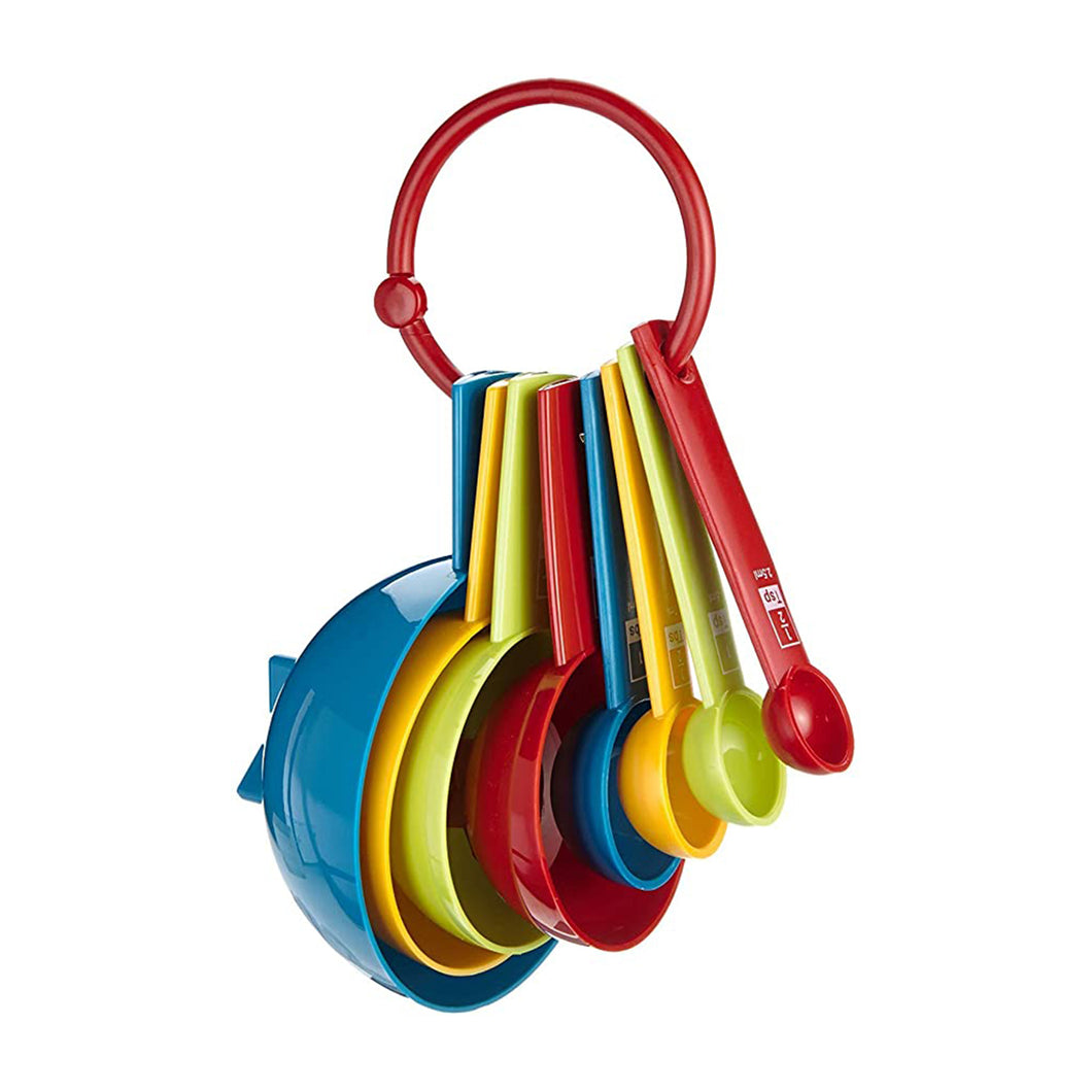 NEW Multi Coloured Measuring Cups & Spoons