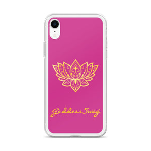 NEW! Goddess Swag™ Lotus Rising iPhone Case