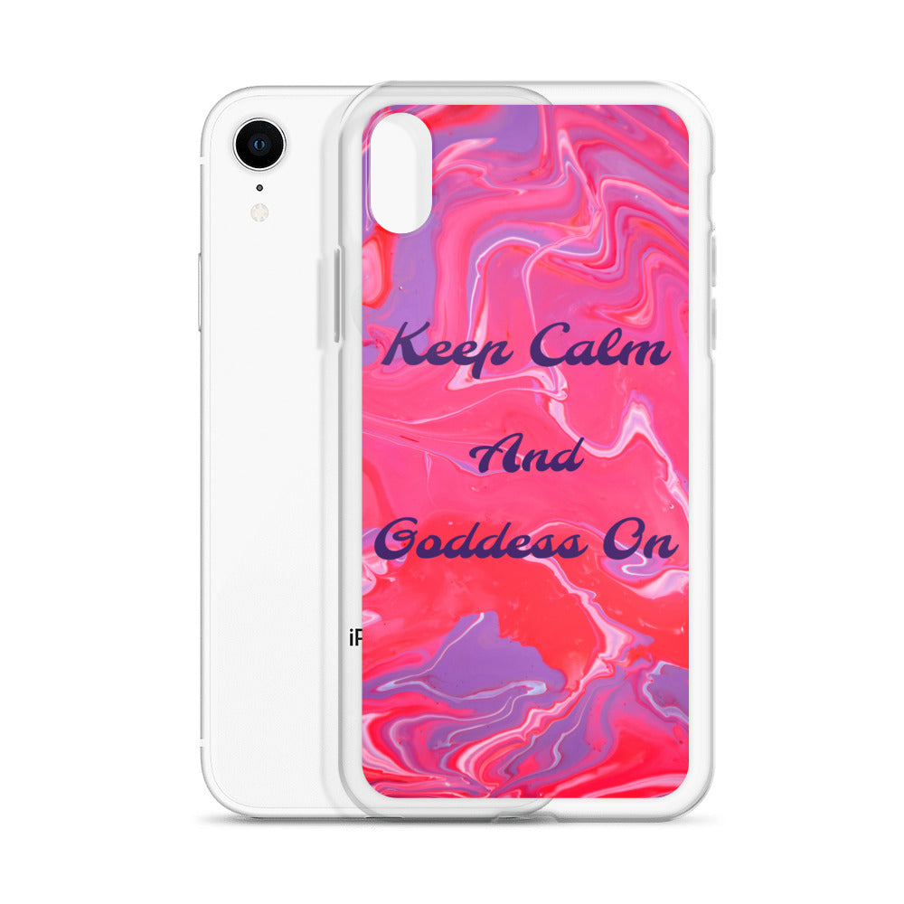 Goddess Swag™ Sorbet Swirl iPhone Case