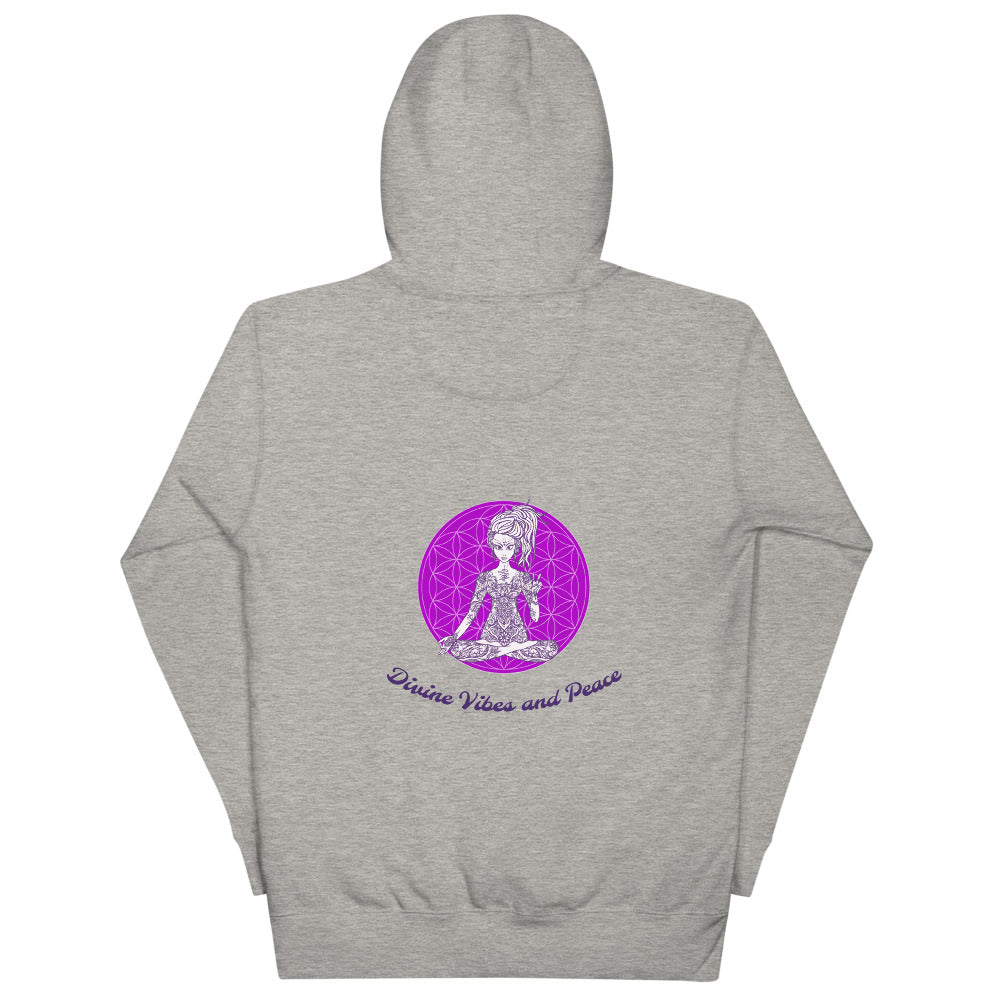 NEW! Divine Vibes™ and Peace Hoodie by Goddess Swag