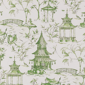 Green Pagoda Tablecloth