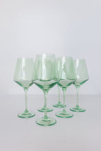 Load image into Gallery viewer, Estelle Colored Wine Stemware (Set of 6)
