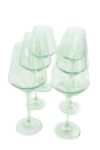 Estelle Colored Wine Stemware (Set of 6)