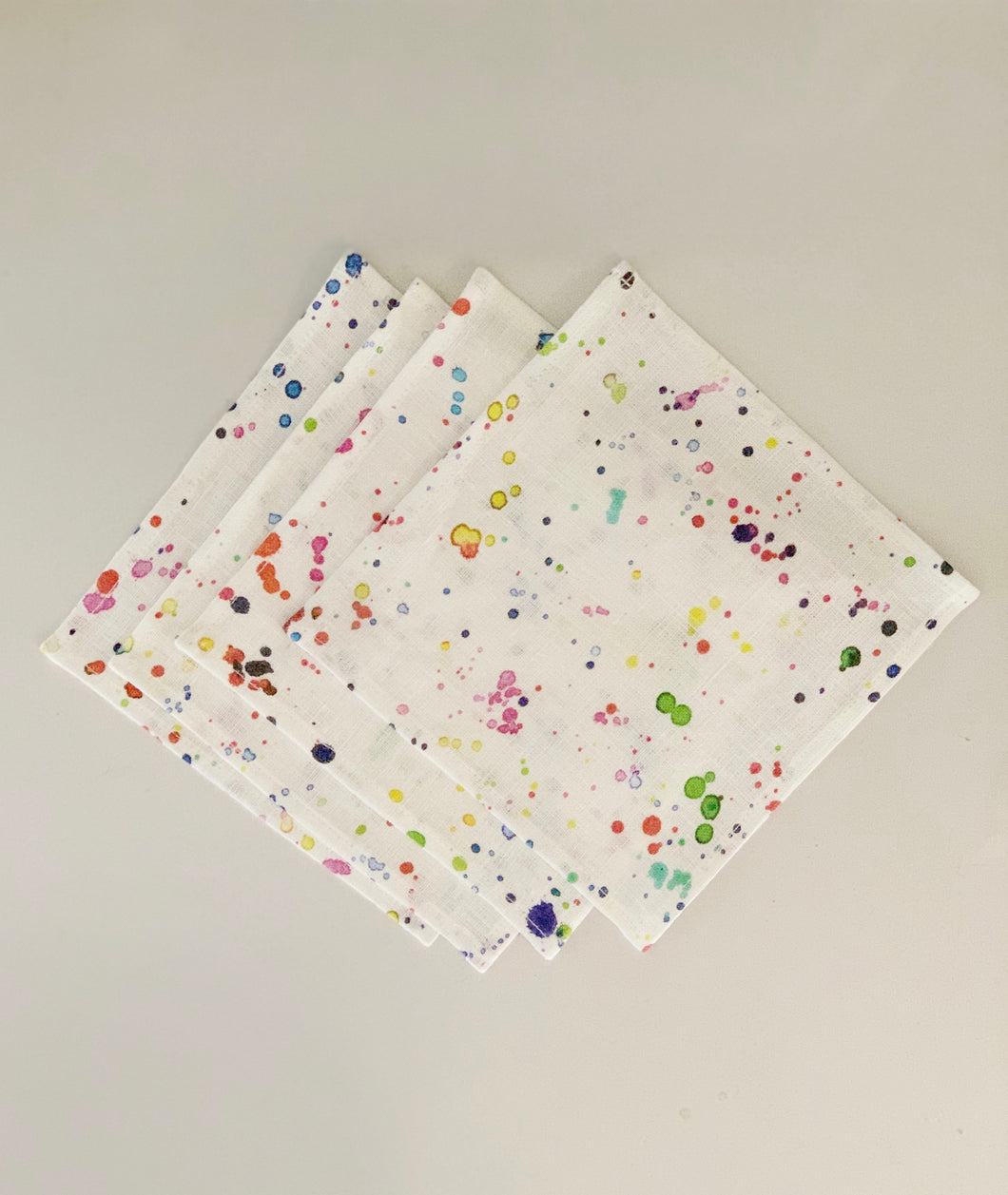 Watercolor Cocktail Napkins