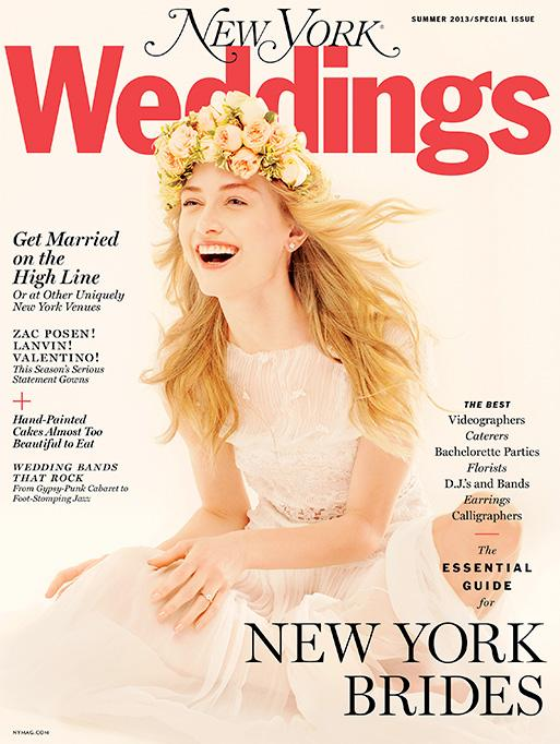 New York Weddings featuring the Rosecut Diamond Earrings