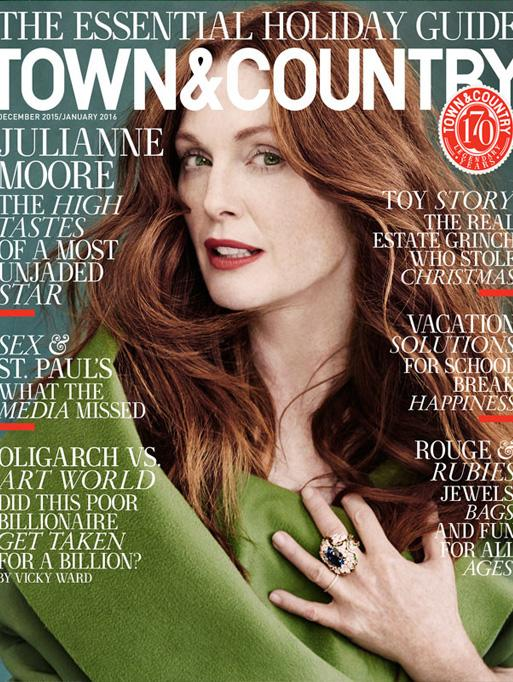 Town and Country featuring the Little Wolf Star Bracelet