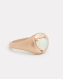 Heart Shape Opal Ring
