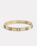 Emerald Cut Tourmaline Bracelet