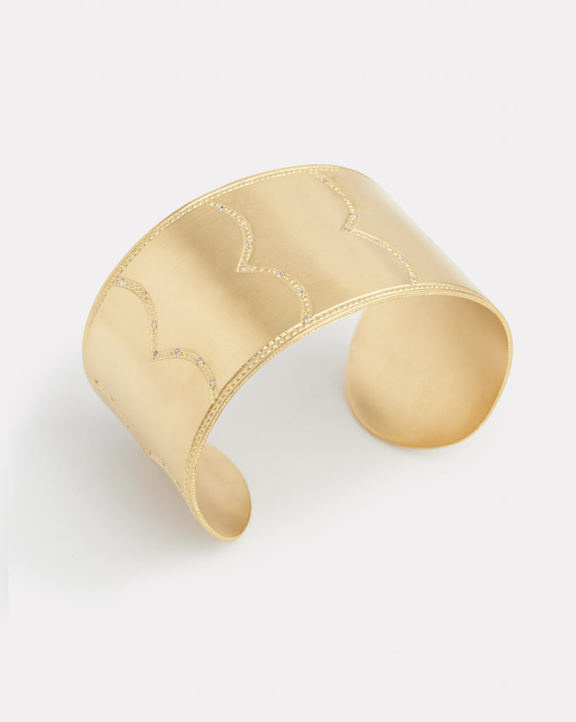 Diamond Wave Cuff