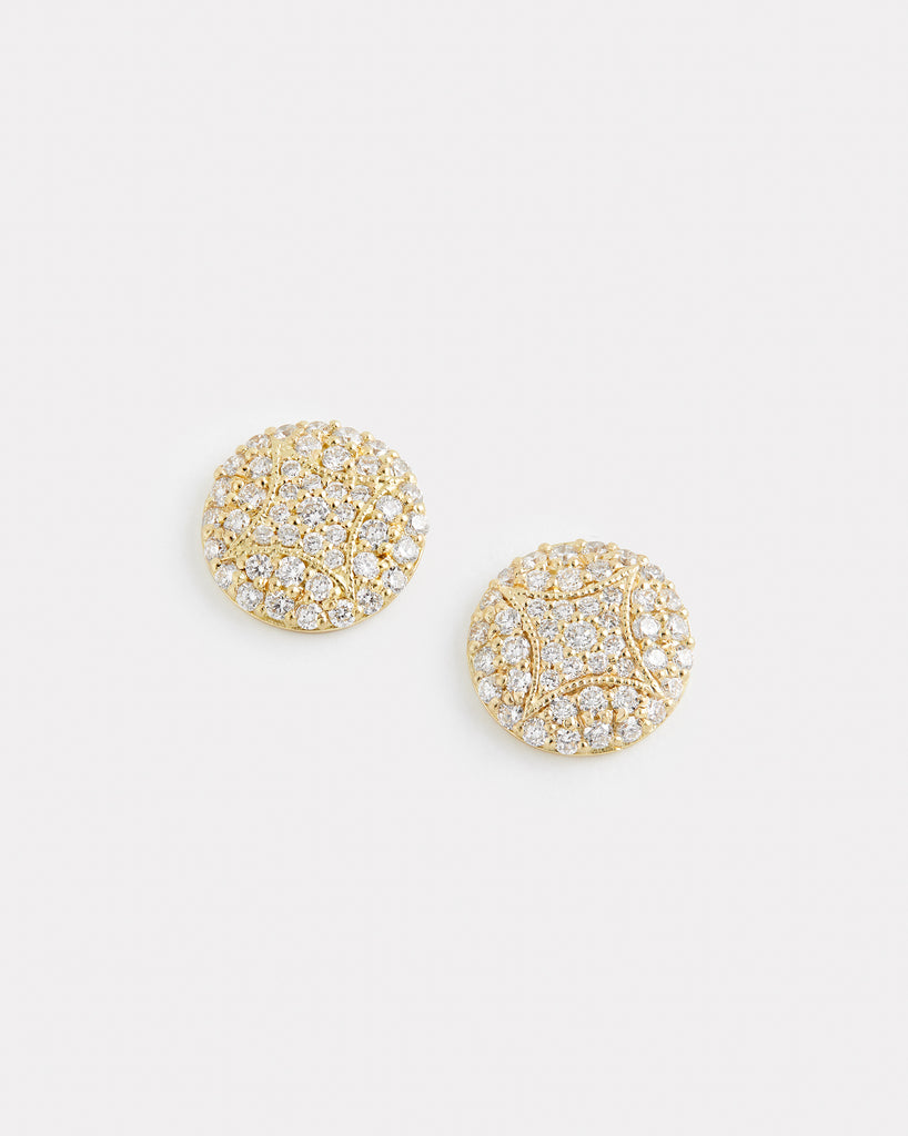 Petite Aladdin Stud with Diamonds