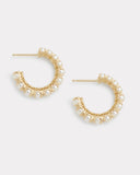 Signature Set Graduated Pearl Hoops