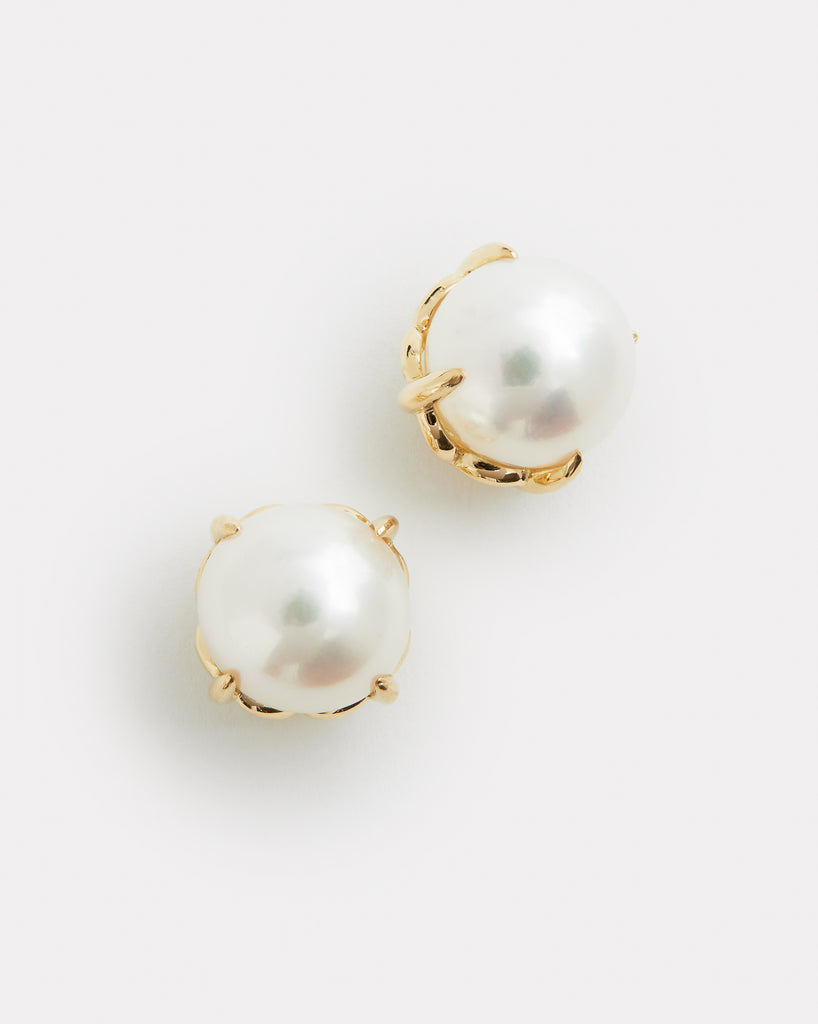 Signature Set Pearl Stud