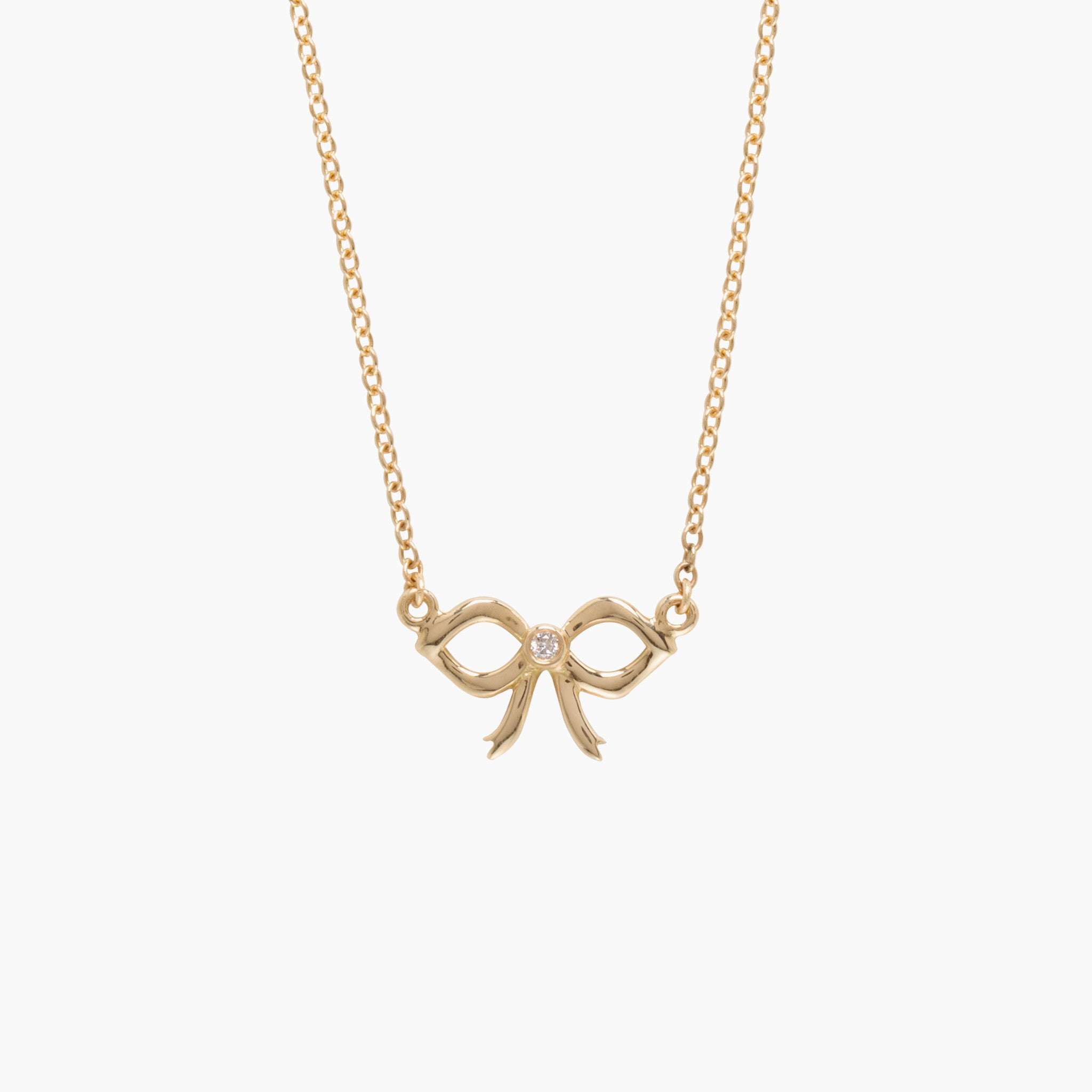 necklace aqua product bow