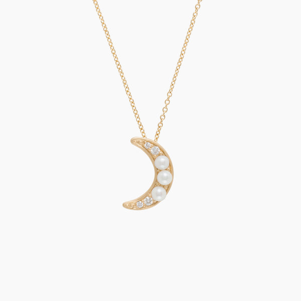 Little Wolf Moon Necklace