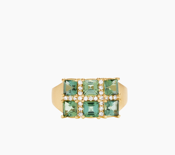Mosaic Square Ring