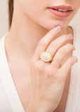 Neoclassical Oval Ring