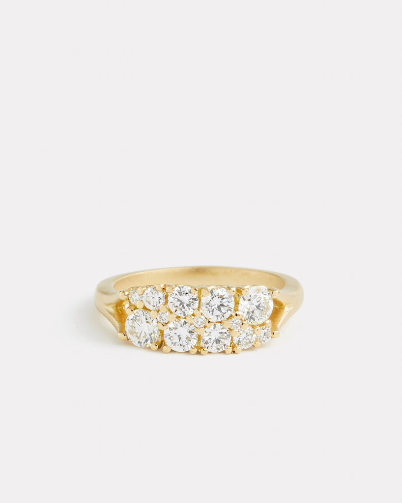 Signature Double Row Diamond Band