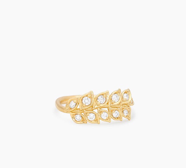 Single Wrapped Vine Ring