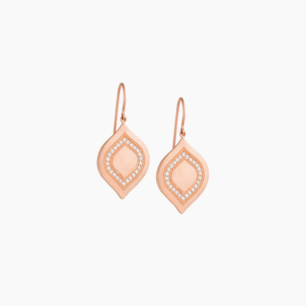 Interior Pave Earring