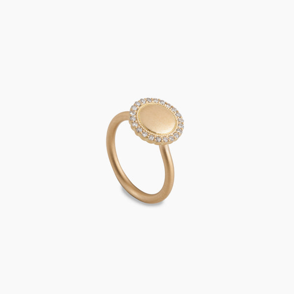 Pave Edge Ring