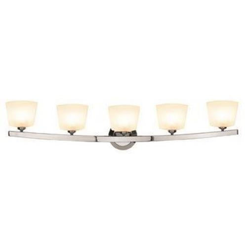 *NEW* Access Lighting Sydney 5 Light Matte Chrome Vanity Light (2 Available) - Macomb County ReStores