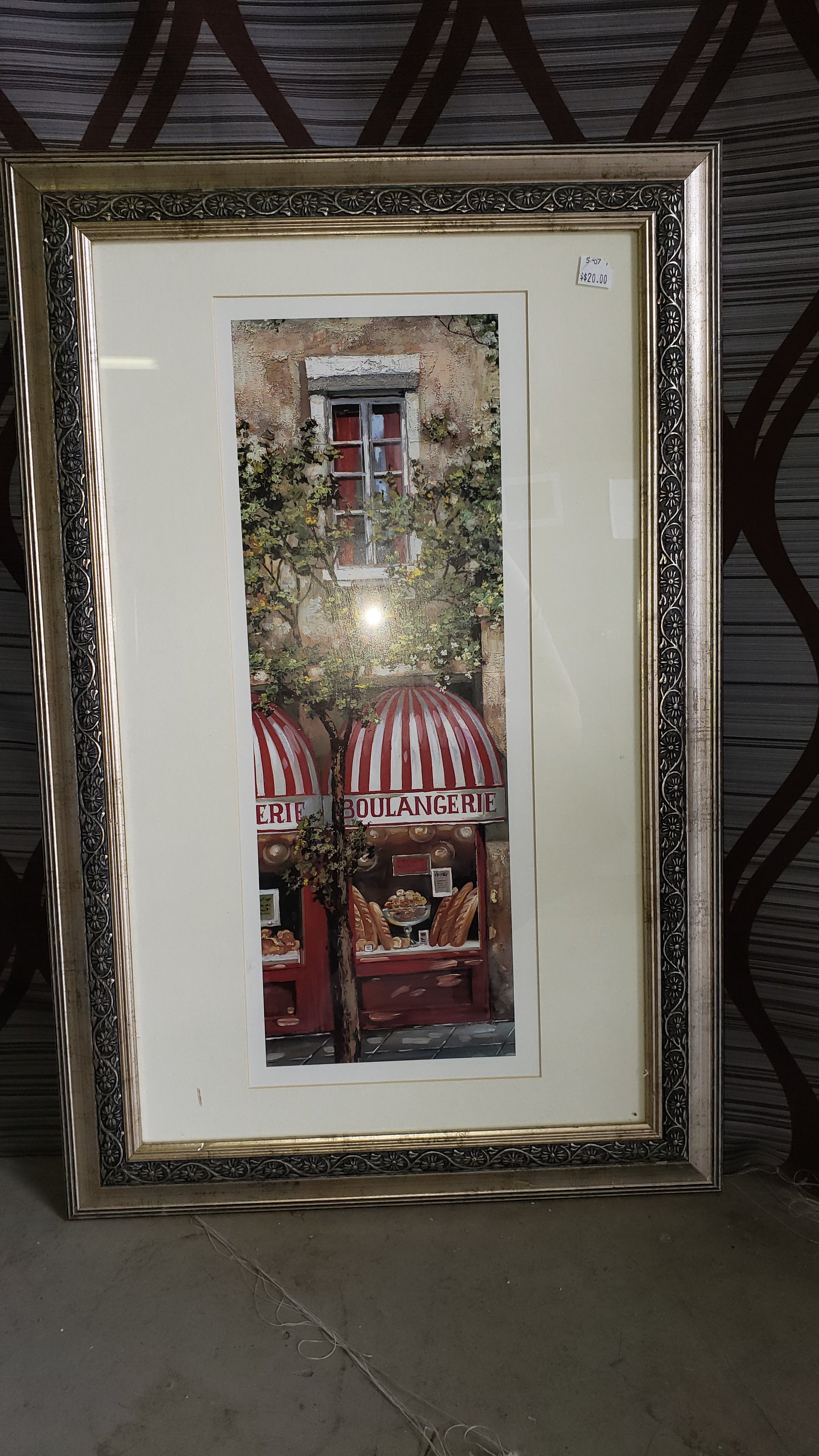 French Bakery Print - Macomb County ReStores